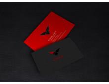 Custom Die Cut Laminated Business Cards (500) $375