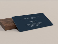 Firm Business Card DIY Template MSWord