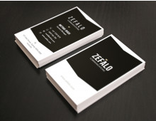 Zefalo Business Card DIY Template MSWord