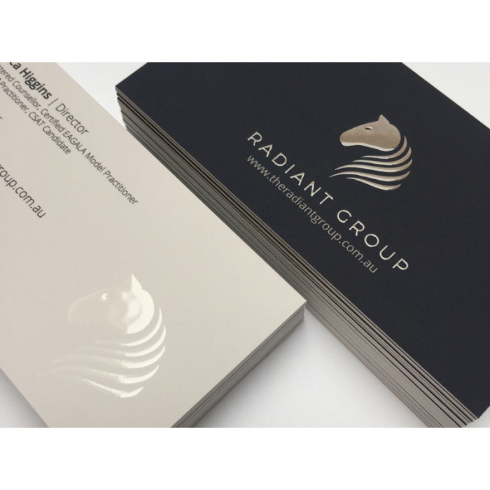 Brandaid print store custom design business cards with spot uv more views reheart Image collections